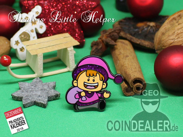 "Geopin ""Dealers Little Helper"" X-mas Edition"