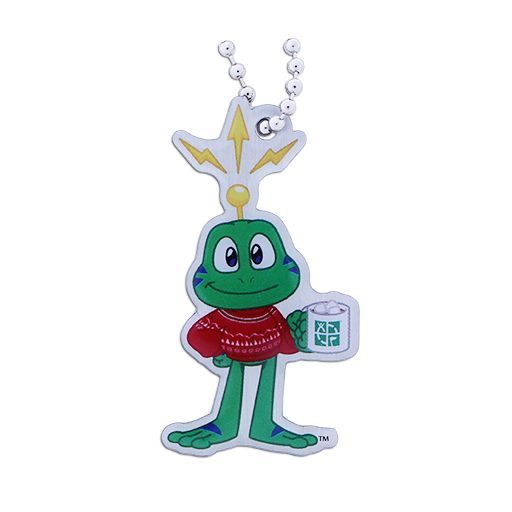 Signal the Frog® Festive Sweater Travel Tag
