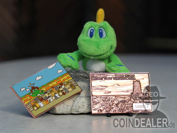 Signal's Adventures Geocoin - Grand Canyon / Antik Kupfer