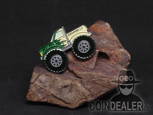 PINPOWER Monstertruck GREEN LANDY